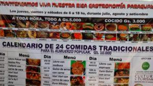 Plaza Uruguay Market lunch