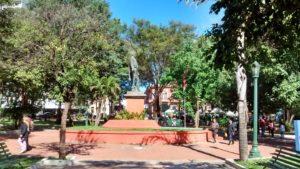 Plaza Uruguay Statue 2