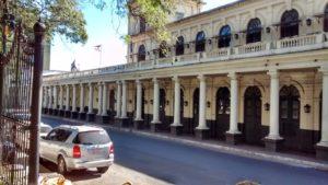 Plaza Uruguay old train station